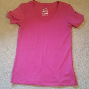 Nike dri fit womans tshirt size small